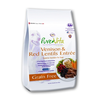 PureVita™ Venison & Red Lentils Grain Free Dry Dog Food