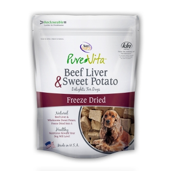 PureVita™ Beef Liver & Sweet Potato Dog Treats