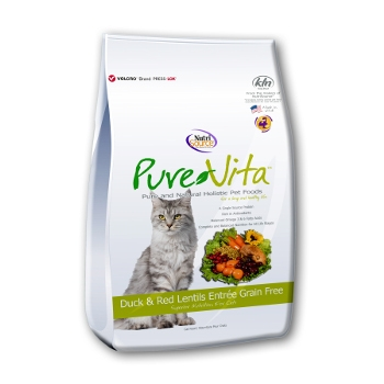 PureVita™ Grain Free Duck & Red Lentils Dry Cat Food