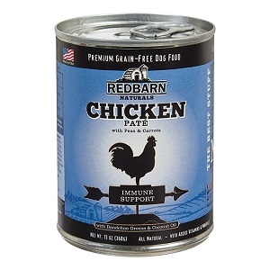 Grain Free Chicken Pate - Immune Support Fomula Dog Food