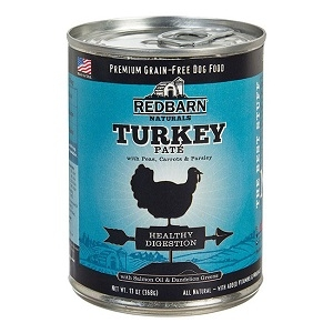 Grain Free Turkey Pate - Digestion Forumla Dog Food