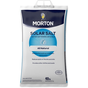 Morton® Solar Salt Water Softening Crystals
