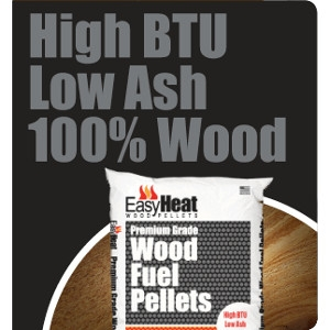 Easy Heat Premium Grade Wood Fuel Pellets