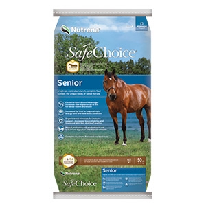 Nutrena® SafeChoice® Senior Horse Feed