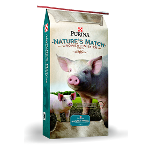 Nature's Match® Grower-Finisher Pig Feed