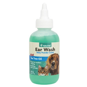 Ear Wash Liquid Plus Tea Tree Oil 4oz