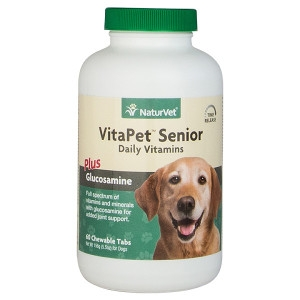 VitaPet™ Senior Daily Vitamins Chewable Tablets 60 Count