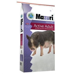 Mazuri Mini Pig Active Adult, 25lb