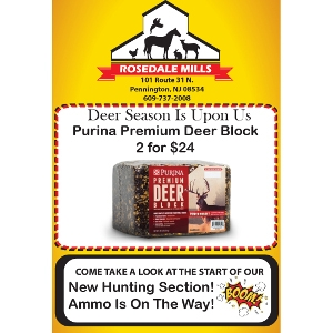 Purina Premium Deer Block Now 2 for $24