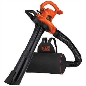 Black+Decker 3in1 VACPACK™ 12 Amp Leaf Blower, Vacuum, and Mulcher