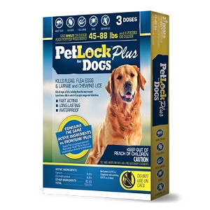 PetLock Plus for Dogs 45 - 88 Pounds