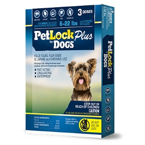 PetLock Plus for Dogs 6 - 22 Pounds