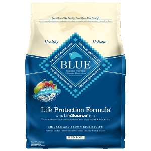 Blue Buffalo Life Protection Formula® Chicken and Brown Rice Recipe For Senior Dogs