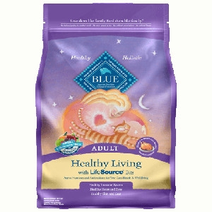 BLUE™ Healthy Living Chicken & Brown Rice Recipe For Adult Cats