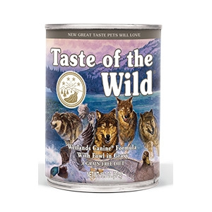 Taste of the Wild Wetlands Canine Canned Formula with Fowl in Gravy 13.2oz