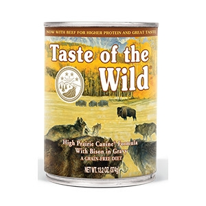 Taste of the Wild High Prairie Canine Canned Formula with Bison in Gravy 13.2oz