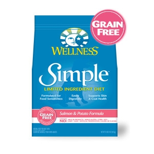 Wellness Simple Salmon & Potato Formula for Dogs 26lb
