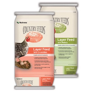 Nutrena® Country Feeds® Layer 16% Crumble Poultry Feed