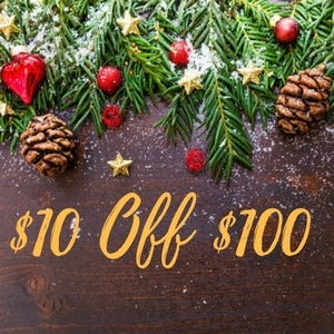 $10 Off $100 or Larger Purchase