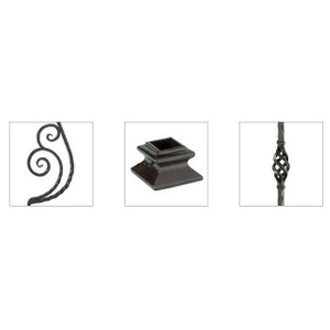 Forged Iron Stair Parts