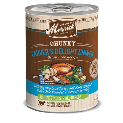 Grain Free Chunky Carver's Delight Canned Dog Food, 12.7 oz.