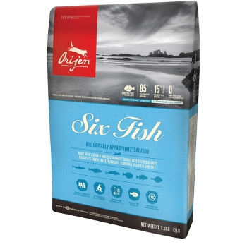 Orijen Six Fish Dry Cat Food