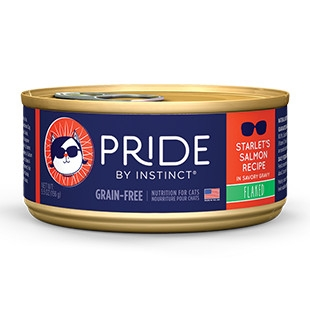 Pride Starlet's Salmon Flaked Canned Cat Food