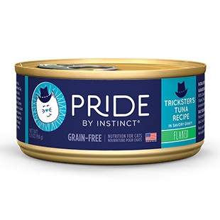 Pride Trickster's Tuna Flaked Canned Cat Food