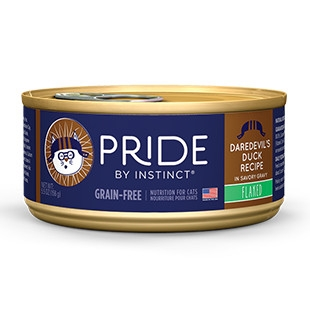 Pride Daredevil's Duck Flaked Canned Cat Food