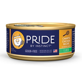Pride Champ's Chicken Flaked Canned Cat Food