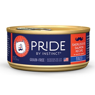 Pride Sherlock's Salmon Minced Canned Cat Food