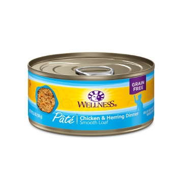 Wellness Complete Health™ Chicken & Herring Paté Canned Cat Food