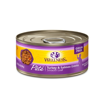 Wellness Complete Health™ Turkey & Salmon Paté Canned Cat Food
