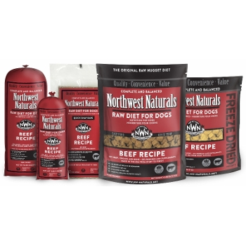 Northwest Naturals Raw Beef Dinners for Dogs