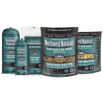 Northwest Naturals Raw Chicken Dinners for Dogs