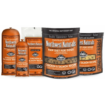 Northwest Naturals Raw Chicken & Salmon Dinners for Dogs