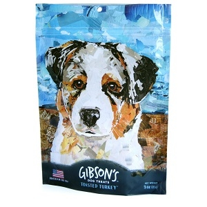 Gibson's Grain Free Toasted Turkey Jerky Dog Treats
