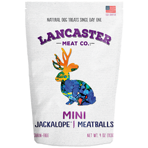 Lancaster Meat Co. Jackalope™ Mini-Meatball Dog Treats