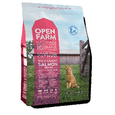 Open Farm Wild Caught Salmon Grain Free Dry Cat Food