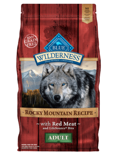 Blue Wilderness Rocky Mountain Recipe Dry Dog Food - Red Meat - ADULT