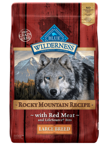 Blue Wilderness Rocky Mountain Recipe Dry Dog Food - Red Meat - LARGE BREED