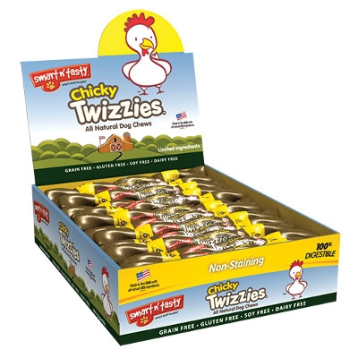 Emerald Pet Smart 'n Tasty Chicky Twizzies Dog Treats