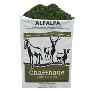 Chaffhaye Alfalfa Pasture in a Bag