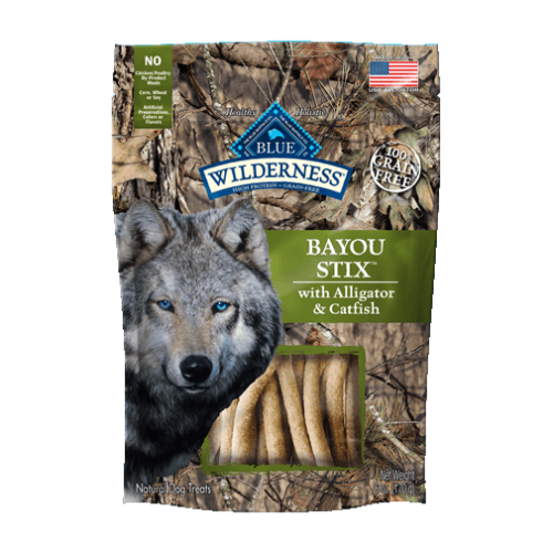 BLUE Wilderness® Bayou Stix™ Dog Treats