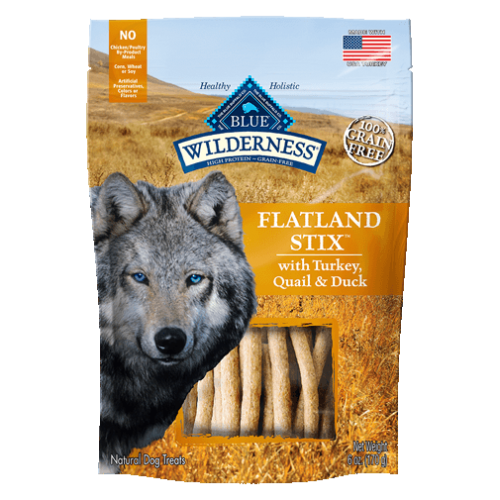 BLUE Wilderness® Flatland Stix™ Dog Treats