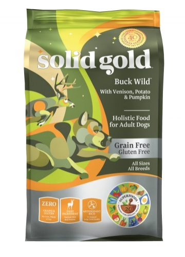 $53.99 Solid Gold Buck Wild Dog Food