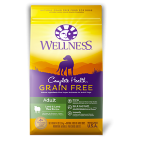 Wellness Complete Health Grain Free Adult Lamb And Lamb Meal Recipe