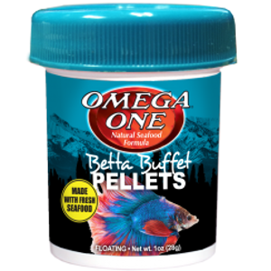 Omega One Betta Buffet Pellet