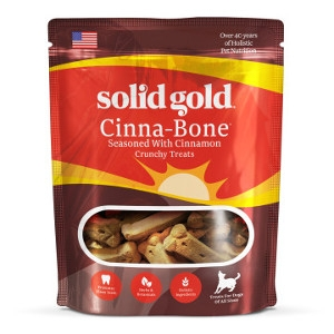 Solid Gold Cinna-Bone Holistic Dog Biscuits