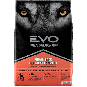 EVO Red Meat Formula Dog Food
